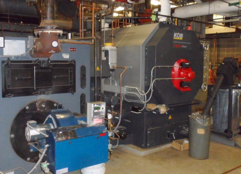 Pellet Boiler Installed In Rutland High School Froling