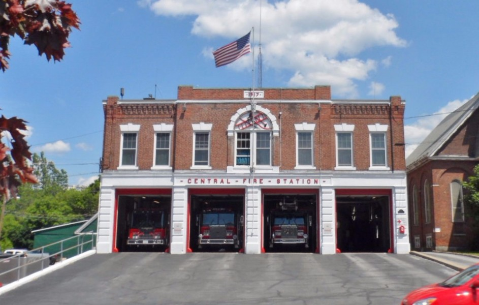Claremont NH Fire Station
