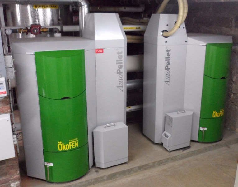 two MESys pellet boilers