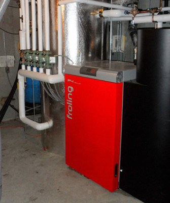 Wood Pellet, Dry Chip, and Green Chip Boiler Systems • Froling Energy