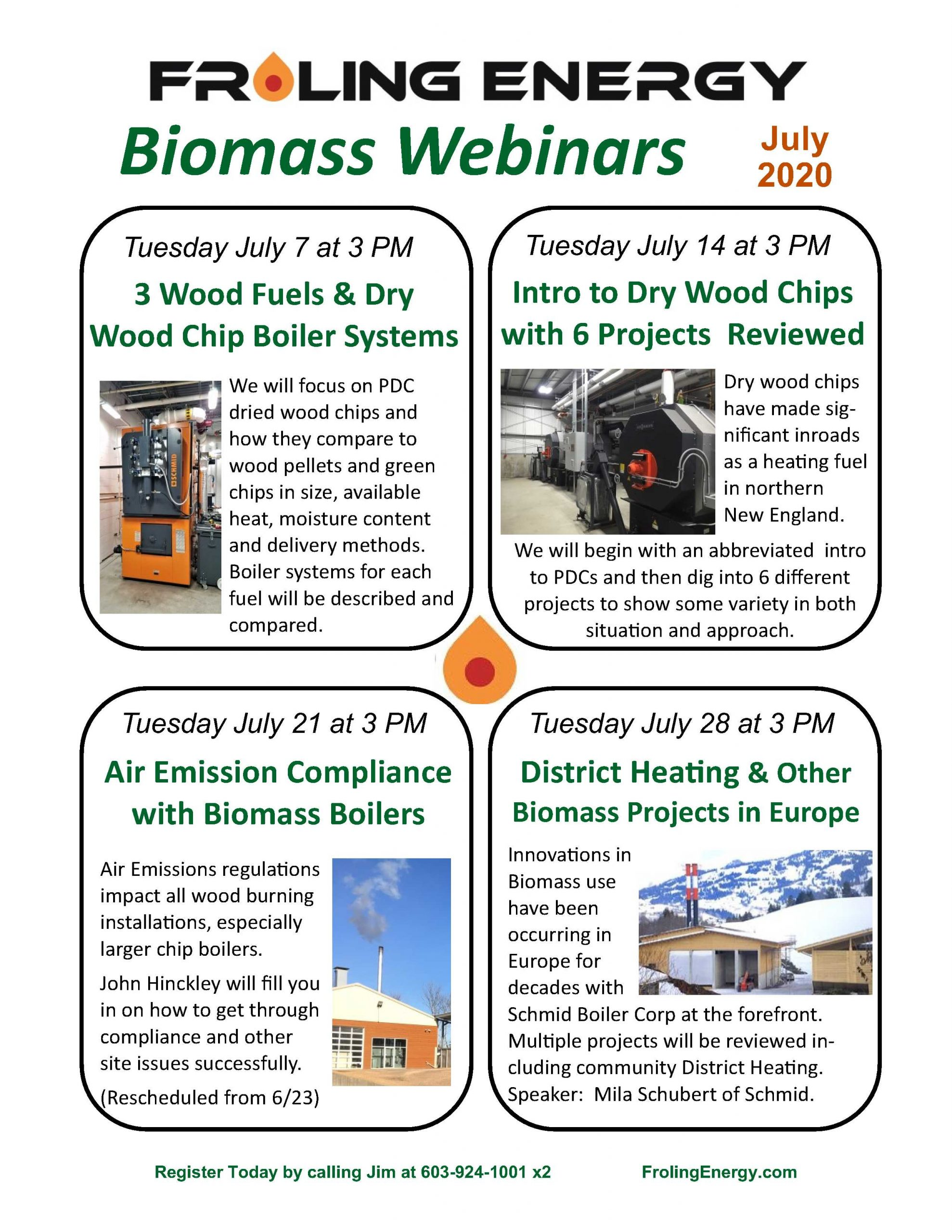 biomass webinars in july 2020