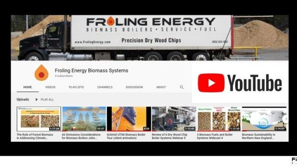 Froling Energy's YouTube Channel
